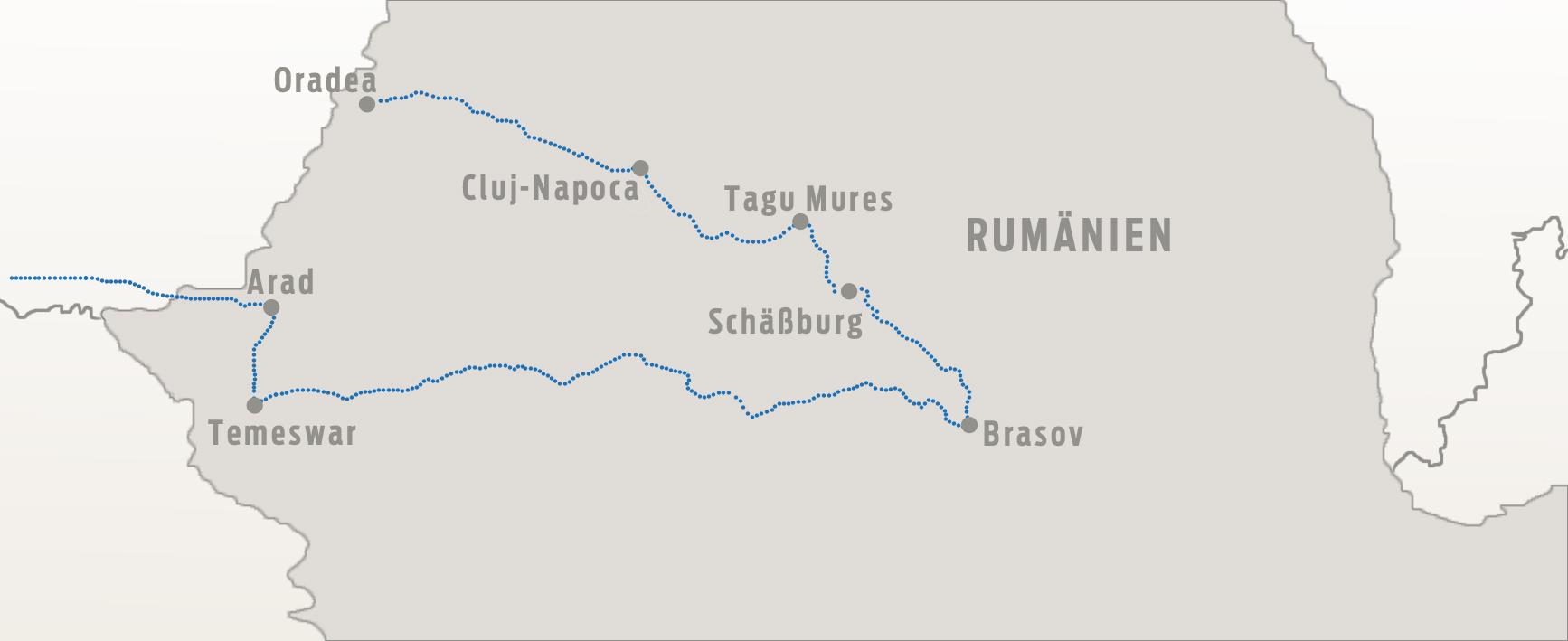 Karte Rumaenien13x6