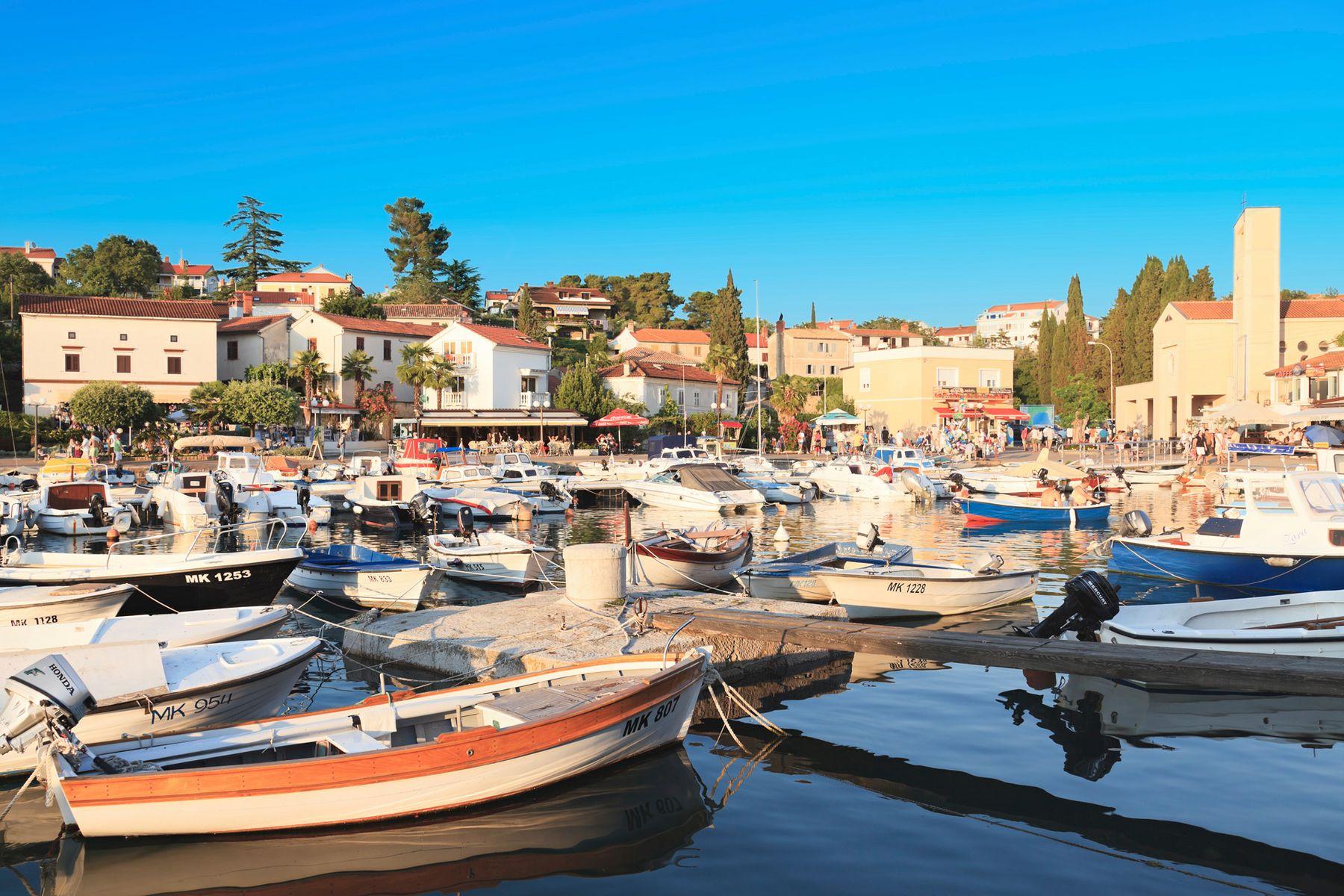 Malinska Hafen