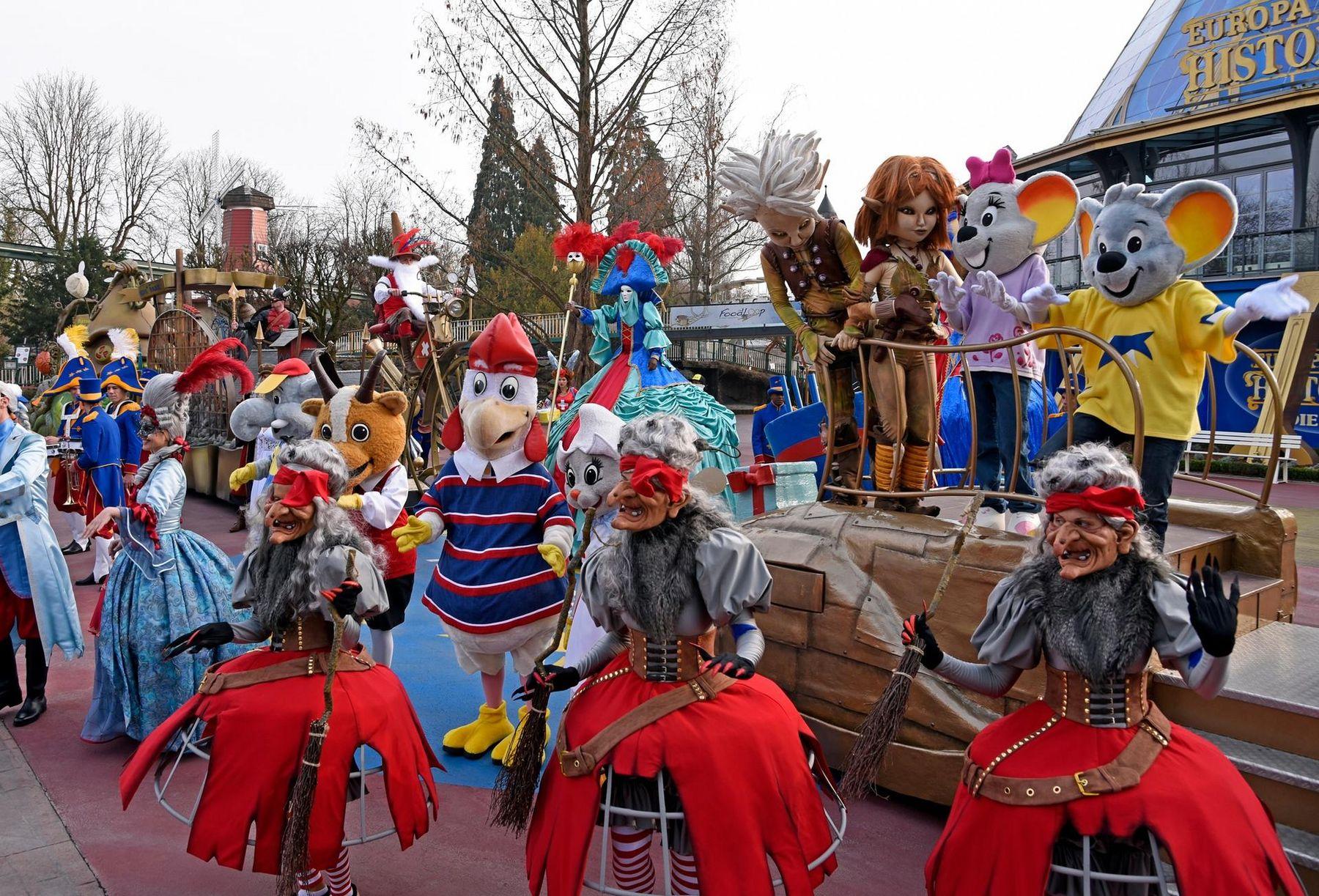 Europapark - Parade