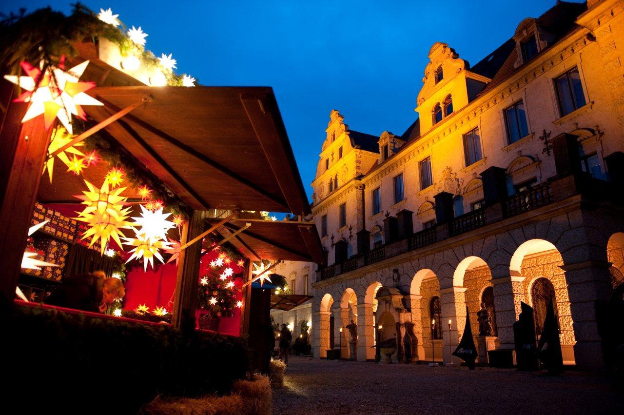 Weihnachtsmarkt Schloss Thurn&Taxis