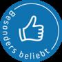 Button besonderBeliebt blau web 170px