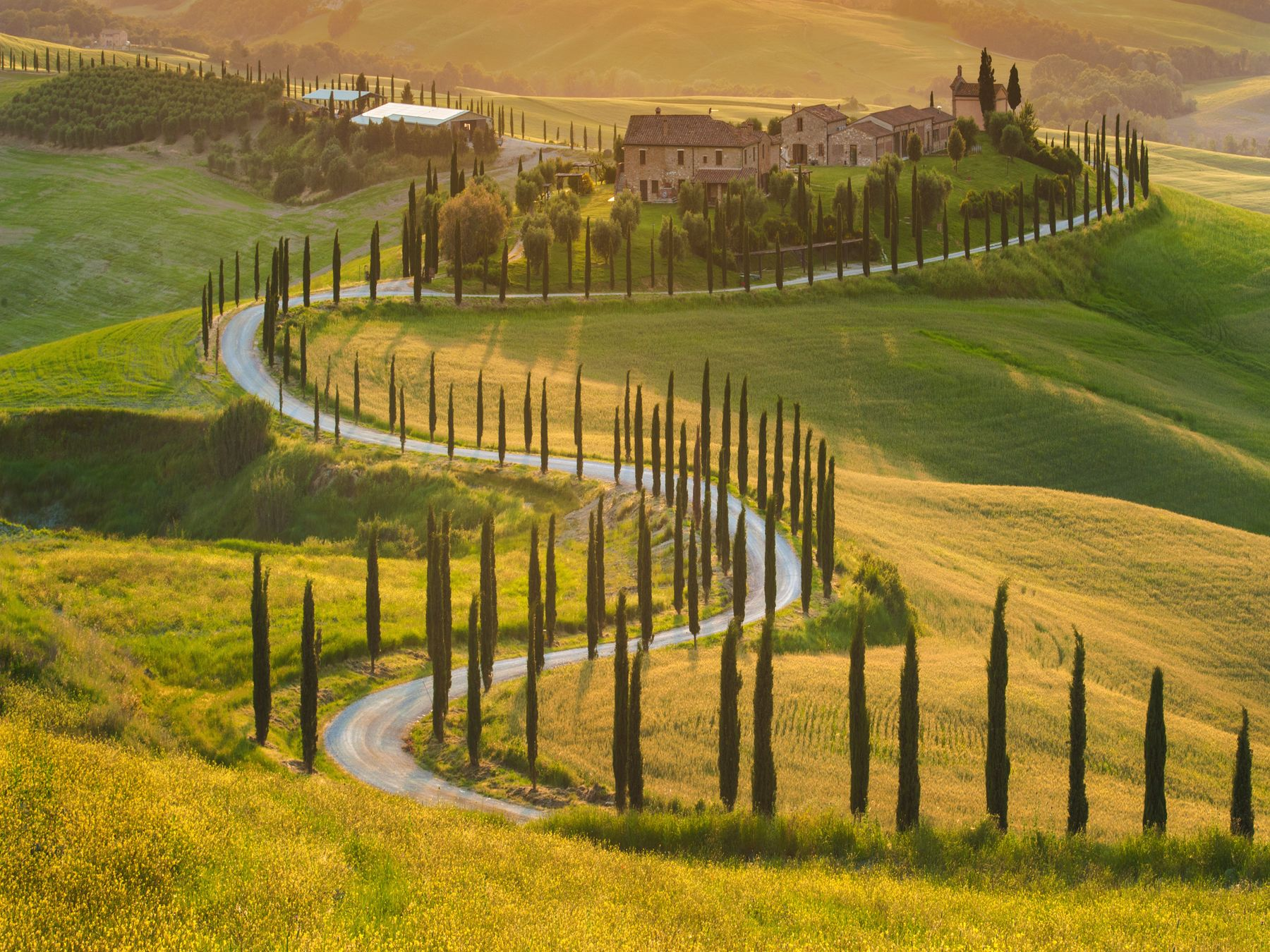 Toskana Landschaft 1